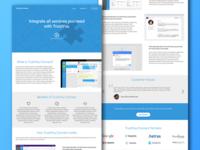 The desktop version of Daily UI #10
