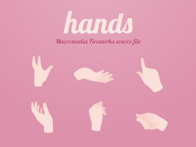 Freebies vector hands