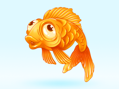 gold fish affinitydesigner