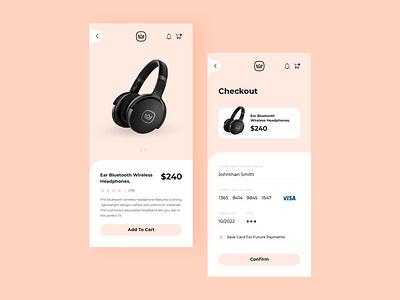Monarch - Checkout UI Design creaditcard checkout branding userinterface interface app screen dailyui ux ui