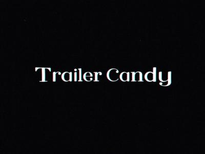 🍭Trailer Candy Logo Animation logo animation logo flat vector 2d typography branding motion design motion design animation