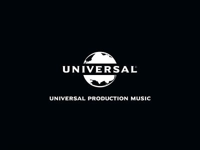 Universal Production Music teaser 3d 2d c4d logo animation logo typography branding motion design motion animation