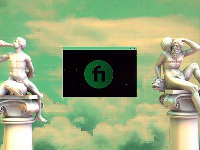 ☁️ Fiverr Stage 🐉 typography c4d logo animation 3d 2d motion design motion design animation