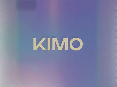 💎 KIMO AI based learning app 📀 shiny purple brand presentation video blender octane cinema 4d render 3d animation 3d motion ai app typography design motion design motion branding motion graphics 3d animation
