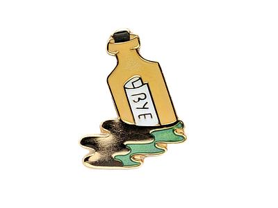 Message in a Bottle message in a bottle pin enamel pin