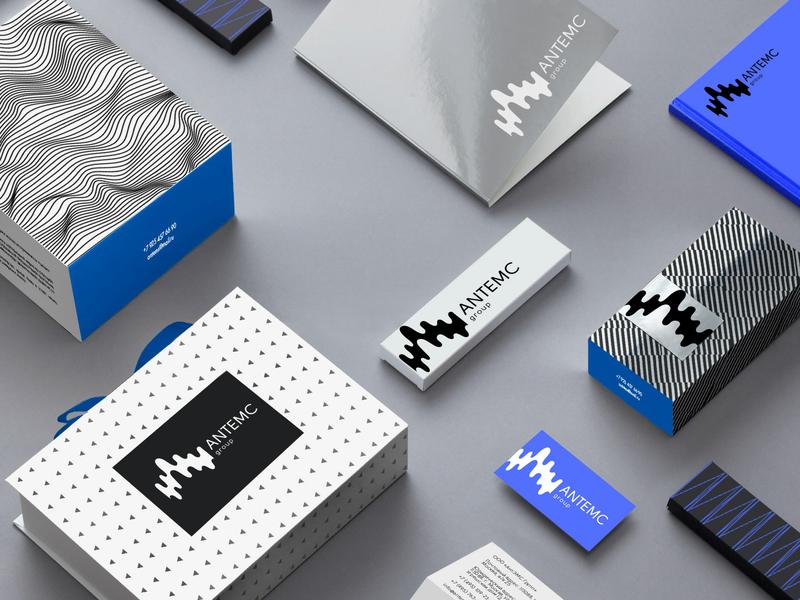 """ANTEMC GROUP"" OFFICE-ELECTROMAGNETIC LABORATORY,MOSCOW icon type значок vector typography цвет пакет package логотип дизайн вектор брендинг logo illustration design color character branding"