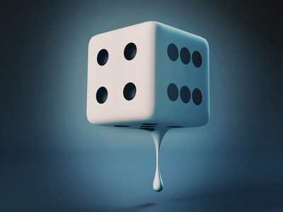 Shake the Dice after effects compositing modeling cinema 4d