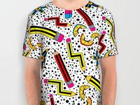 Pencil Print T-Shirt