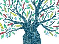 The Pencil Tree
