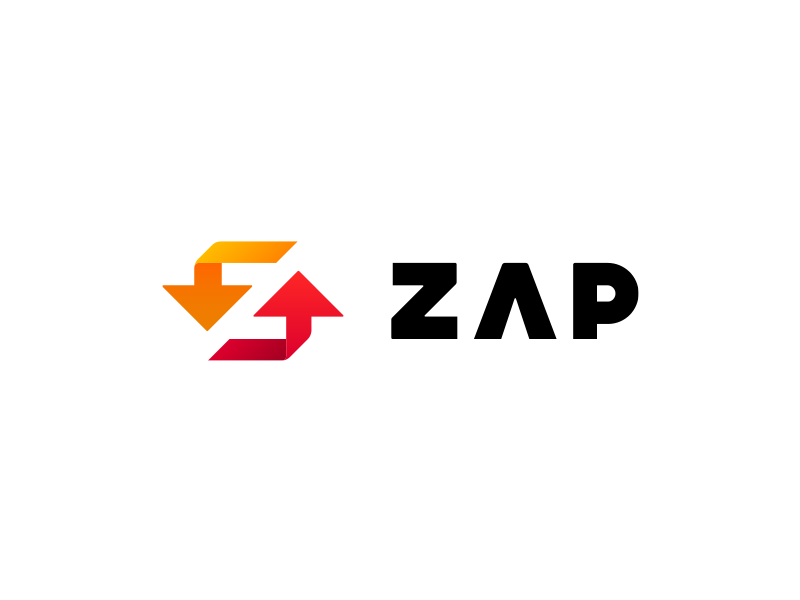 Zernike Advanced Processing logo mark typography zap zernike advanced processing recycling negative space z arrows