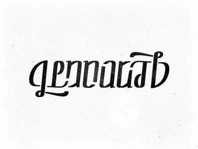 Ambigram test