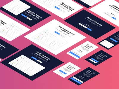 Figma Ui Kit + 160 Ui Elements landing page design resources download figma design figma files freebies figmadesign figma ui kit ui kit resources figma