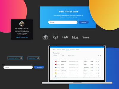 Landing page starter kit #5 freebies ui components typography figma design system ui kit design resources landing page color palette