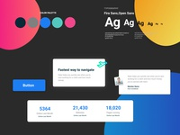 Figma Landing page design kit #16