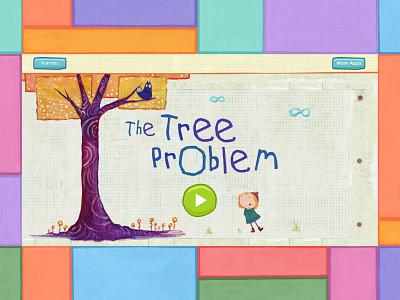 Peg + Cat The Tree Problem App product mobile ux kids ui entertainment design