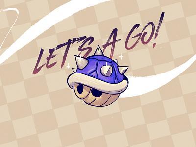 Let's A Go! illustration