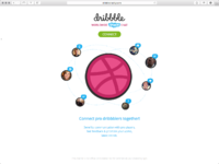 Dribbble worldwide skype chat. connect pro dribbblers together!