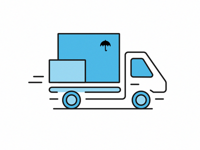 Delivery Truck Icon truck car icon delivery
