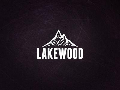 Lakewood Branding mountain logo mountain brand branding logo
