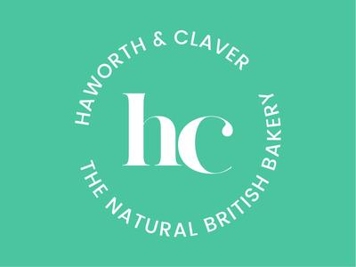 Haworth & Claver Bakery highend modern vintage classic restaurant branding restaurant bakery logo bakery branding logo