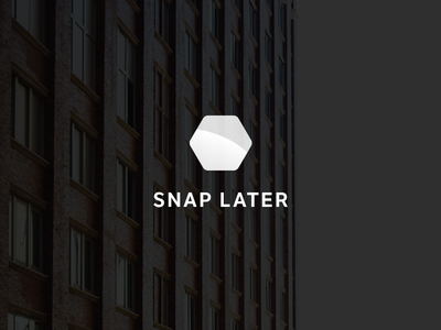 Snap Later branding branding photography note list app lft etica logo mark