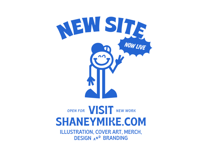Shaneymike Studios Branding personal brand vector characters cartoon cartoon character advertising self branding branding illustration