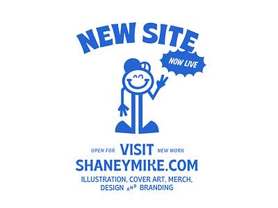 Shaneymike Studios Branding personal brand vector characters cartoon cartoon character advertising self branding branding illustration