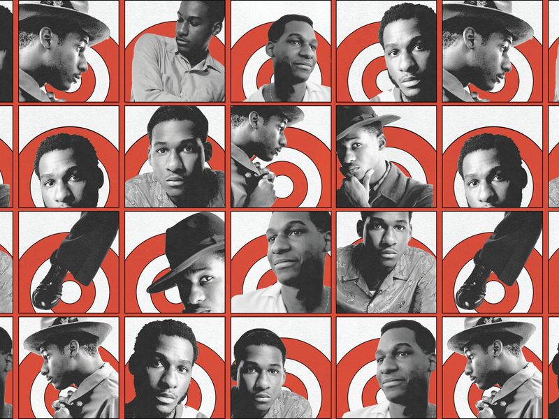 Leon Bridges social graphic flyer retro vintage leon jazz bridges