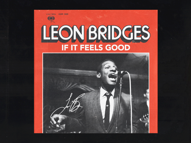 Leon Bridges alphabet vinyl vinyl cover record music lettering leon bridges soul jazz album art album