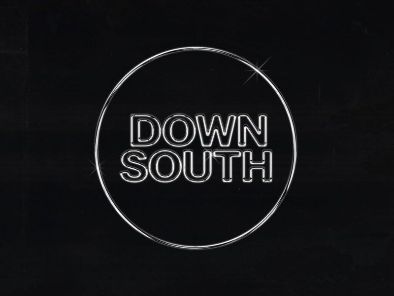 Downsouth Logo Final music chicago dj logo wordmark logo logotype logo design wordmark mixtape
