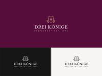 Logo for restaurant Drei Koenige