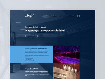 Artfol webdesign ux ui webdesing
