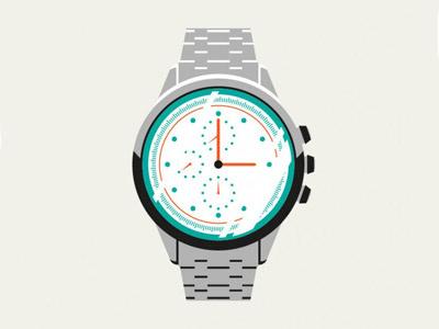 Watch  illustration timepiece flat design icon icon design design watch