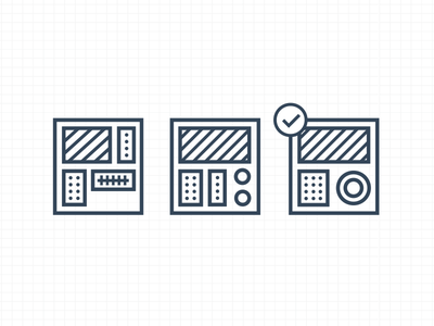 Iterate illustration icons