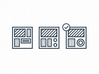 Iterate illustration icons