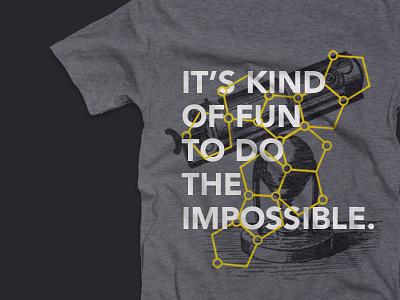 Impossible Shirt illustration branding shirt t shirt