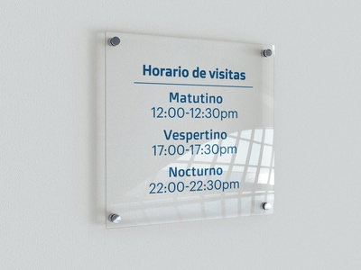 Horario de visitas UCIA