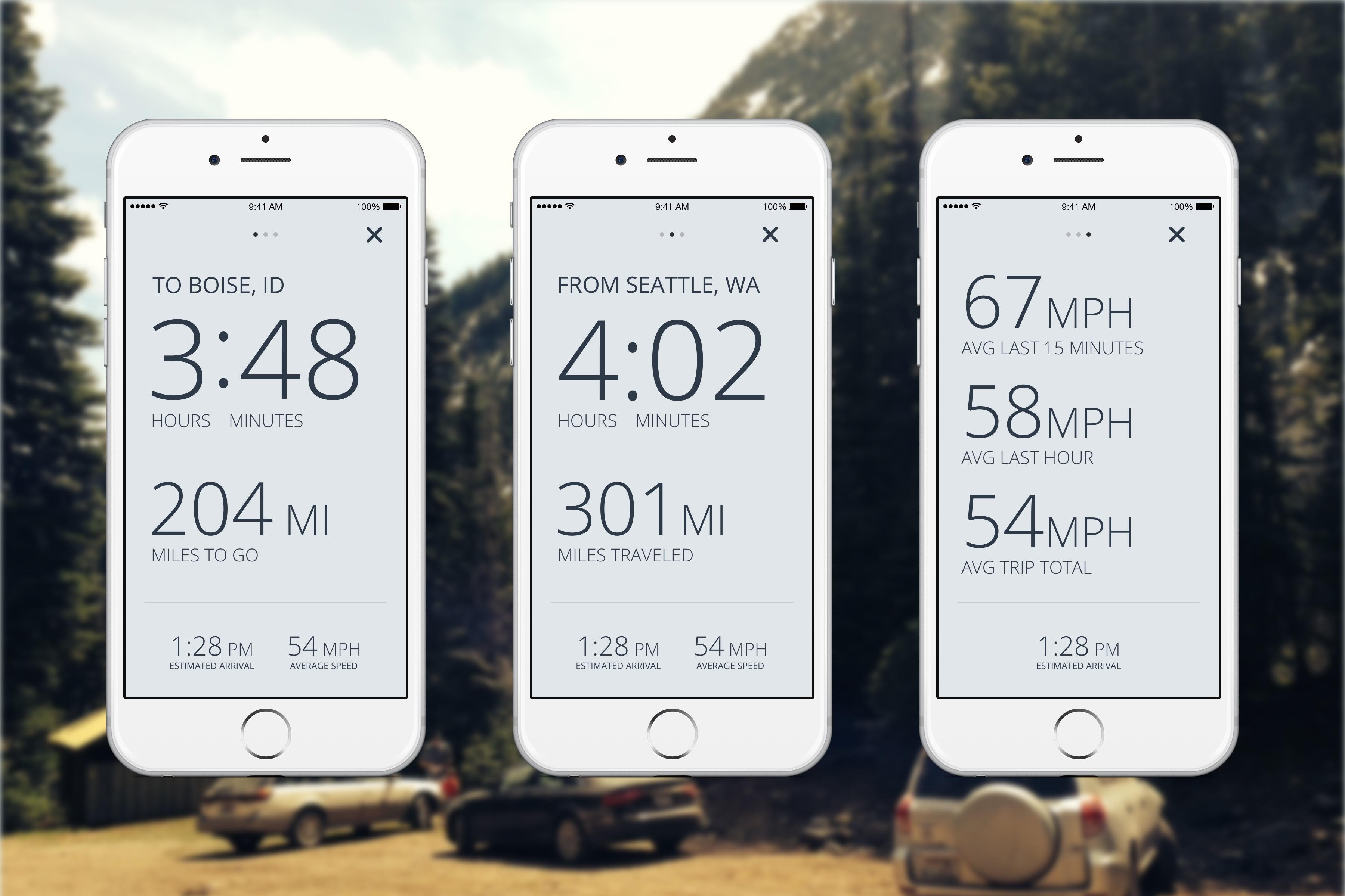 Drive app real pixels