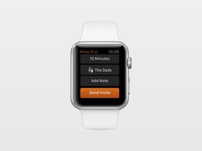 Coffee Run Watch apple watch sketch app ryan smith watchos watch concept design app ui ux product