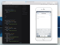 Prototyping Mail App Transition