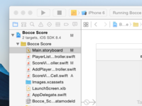 Xcode, Interface Builder, and Swift
