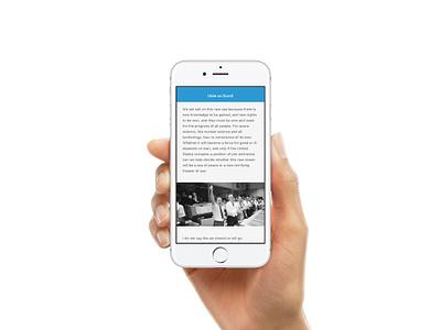 Hide NavBar on Scroll - Framer Prototype ryan smith design product app interface ios iphone framerjs framer prototype mobile