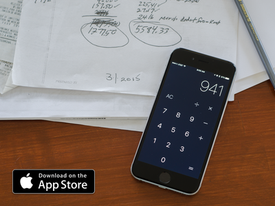 Calculator App sketch app ryan smith swift xcode iphone calculator design app ui ux ios mobile