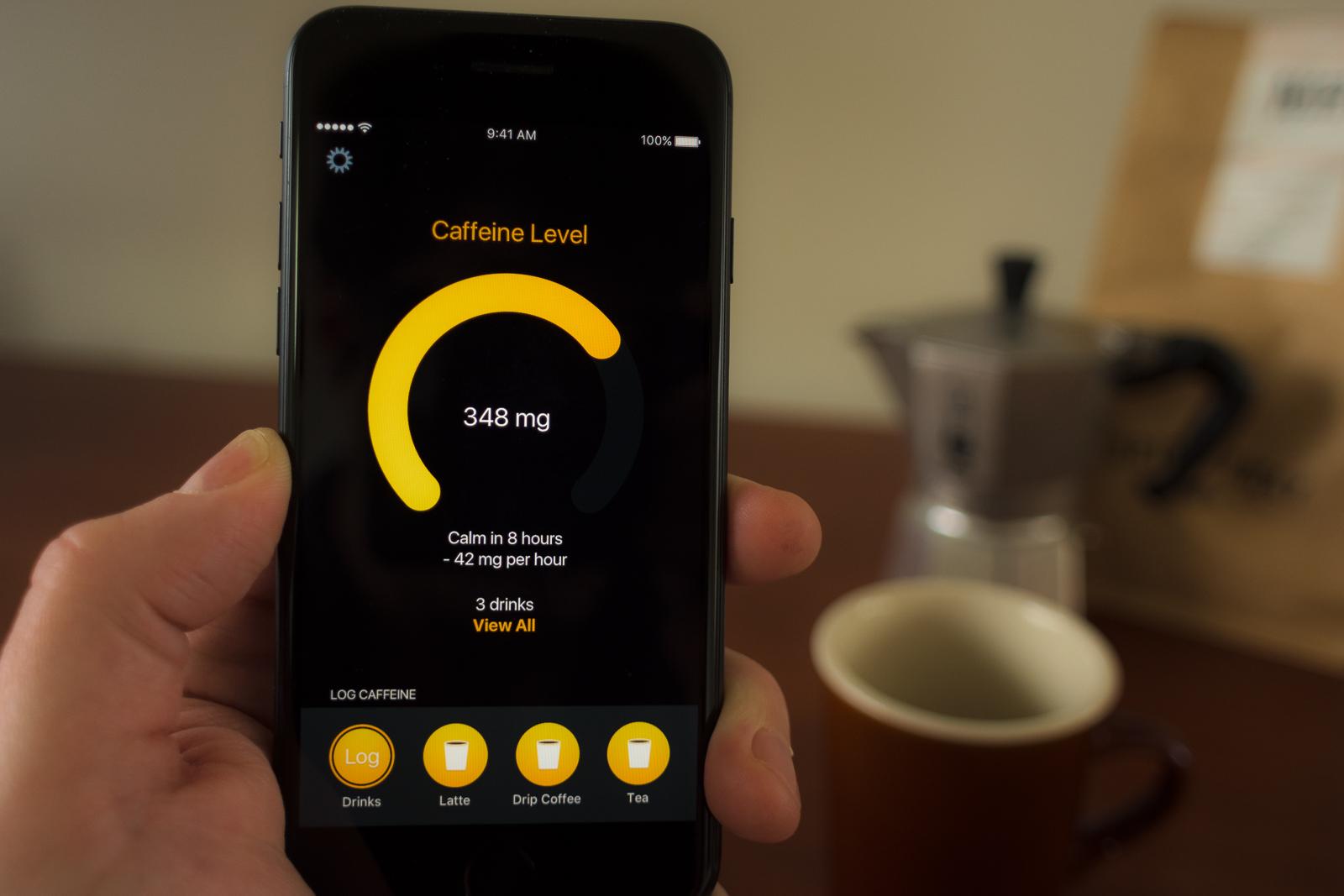 Caffeine tracking full