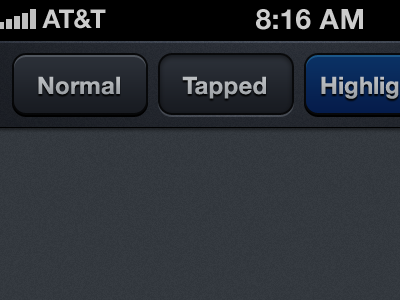 Nav Bar Buttons navbar nav bar buttons dark ui iphone ios ryan smith