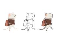 Little Mouse Dribbble