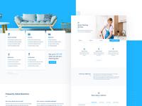Blue Clean - Landing Page