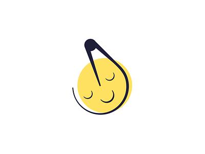 Crecraters sattelite moon logo logo design logo