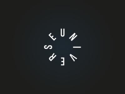 Universe logo design circle logo universe design logo