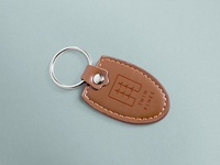 Twin Pines Keychain